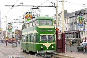 Blackpool Transport Balloon Tramcar 700 tram Photo Ref P156