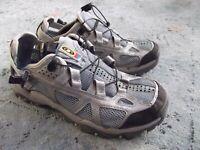 Salomon Techamphibian Blue/Silver Mesh Bungee Water Shoes sZ. 9 US