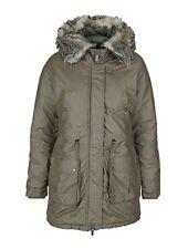 Bench Damen Winterjacke Wintermantel Jacke Mantel Winter Parka khaki S 36 NEU
