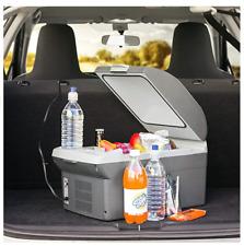 Portable Car Cooler Mini Fridge Warmer Truck Electric Refrigerator 12V 14 Liter