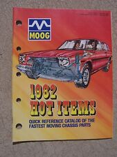 1982 MOOG Auto Fastest Moving Chassis Parts Quick Reference Parts Catalog   T