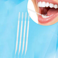 Disposable Double-headed Teeth Sticks Floss Pick Superfine Toothpick Oral Care