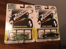 The Fast and Furious 1:64 scale Mitsubishi Eclipse  And Charger Issue 100 101