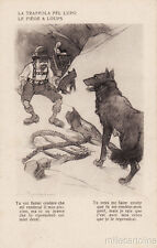 * RAEMAEKERS - WWI Anti-German Propaganda - The trap for the wolf