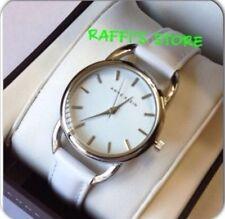 Anne Klein Women's Watch Ak/27001018 Silver-Tone White Leather.