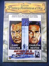 DVD Misterio en el Barco Perdido,Gary Cooper,Charlton Heston