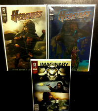 HERCULES THRACIAN WARS 1 COVER A & B RADICAL STUDIO Comic Lot The Rock VF/NM