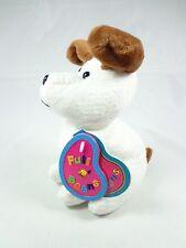 Avon Birthstone Toy stuffed animal bean bag November topaz scout the terrier NWT