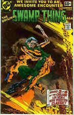 DC Special Series # 14: original Swamp Thing saga (bernie wrighston) (Estados Unidos, 1978)