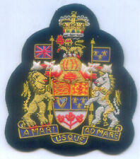 Canada Commonwealth UK Kingdom State Royal Regalia Crest Arms Seal Nation Patch