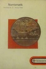 Numismatik. Gold- und Silbermünzen. Preisliste nr. 21. Herbst 1986. UBS.