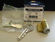 ILCO Grade 2 Knob, Lever & Deadbolt Cylinder Kit- Yale Y1 Keyway  - Satin Chrome