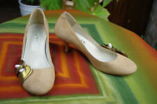 Court Shoes Jonak Suede Beige Sand T 36/36,5 Very Good Condition
