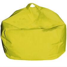 Cuscino per esterno Pouf poltrona a sacco giallo Ø65 cm da giardino