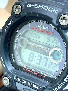 Casio G-Shock Men's Watch GW7900-1CF Touch Solar Black Resin Digital 50mm 3193