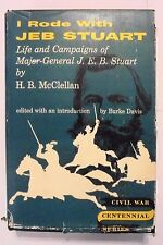 I Rode With Jeb Stuart by H. B. Clellan  Civil War Centennial Series  1958