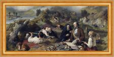 Rent-day in the Wilderness Edwin Landseer Dog Picnic nobility read B a3 01585