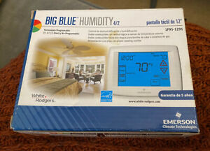 Emerson Touchscreen 7-Day Programmable Thermostat w/Humidity Control 1F95-1291