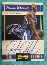 2010-11 Hassan Whiteside Rookie RC Auto Panini Classics Set #172 #644/699