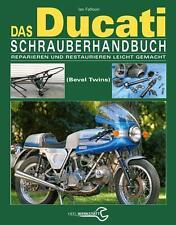 Ducati Schrauberhandbuch Ian Falloon königswelle 750 860 900 Author signierte
