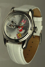 Disney automatic watch Daisy Duck rhinestones new unworn original box