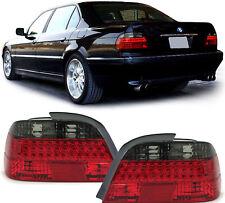FARI LED POSTERIORI ROSSO + SMOKE PER BMW E38 98-01 FANALI NUOVI SERIE 7