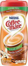 Coffee-Mate Vanilla Caramel, Sugar-Free Powdered Coffee Creamer 10.2 oz (4 pack)