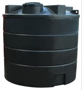"Ecosure Large 13000 Litre Ltr Rain Water Tank - Non Potable - Free 2"" Valve"