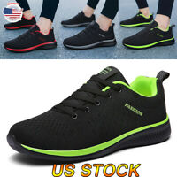 Athletic Men Running Sneakers Sport Lace Fashion Casual Walking Breathable Shoes