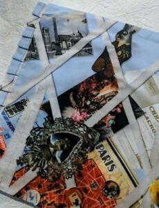 Christian LaCroix 45cm cushion designers guild blue floral