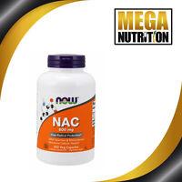 NOW Foods N-Acetyl Cysteine 600mg 250 Veg Capsules | NAC Selenium & Molybdenum