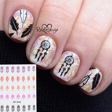 2Sheet BORN PRETTY W08 Dream Catcher Nail Art Water Decal Transfer Sticker Wraps