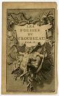 Antique Print-FRONTISPIECE-POETRY-ORNAMENT-ROUSSEAU-MUSIC-Picart-Bernaerts-1712