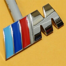 Car Sticker M Vehicle Auto Trunk Stainless Badge Decal Chrome for BMW