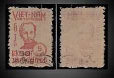 1956 VIETNAM HO CHI MINH OVERPRINT 50 DONG - USED SCOTT 50