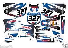 YAMAHA YZF250 YZF 250 YZ250F F YZ 450 YZ450F Motocross Kit vinyl 2003 2005