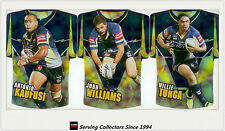2009 Select NRL Classic Holofoil Jersey Die Cut Card Team Set Cowboys (6)