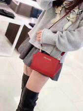 NWT Michael Kors Selma Mini Leather Crossbody Bag Scarlet Red a5f236b153d6d