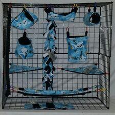 Olaf * 15 PC Sugar Glider Cage set * Rat * double layer Fleece