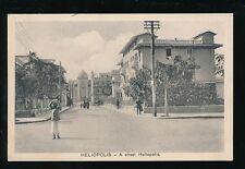 Egypt HELIOPOLIS Street scene WW1 1916 OAS PPC