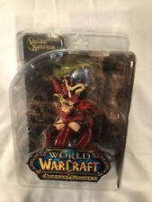 WoW VALEERA SANGUINAR Series 1 Action Figure (2007) NEW IN BOX!