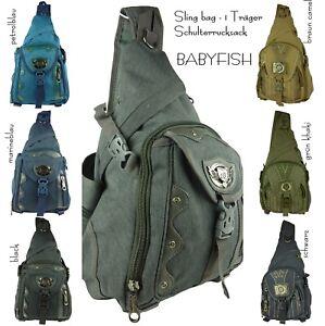 Babyfish Rucksack 1 Träger Schulterrucksack daypack Arbeitsrucksack Reise 201352
