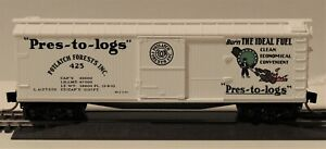 """N SCALE: 40' DOUBLE SHEATHED WOOD BOXCAR - """"POTLATCH LUMBER"""" - MTL 42060"""