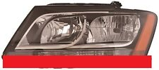 AUDI Q5 SQ5 2009-2012 DRIVER HALOGEN HEADLIGHT HEAD LIGHT LAMP - LEFT