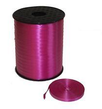Cinta de Globo Curling 5mm 100m Rosa Oscuro para Cumpleaños Boda Aniversario