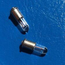 2x Car Key Lamp Mini Light Bulb 1,5V SM4s Miniature 0,09W Ignition Replacement