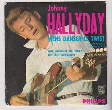 Johnny Hallyday - Viens danser le Twist - CD - 3 titres .