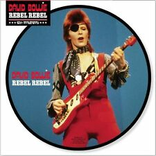 """DAVID BOWIE - REBEL REBEL - 7"""" PICTURE DISC BRAND NEW 2014 - 40TH ANNIVERSARY"""