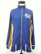 Marathon Running Jacket OC Orange County Reflective Strips Blue Women's  L