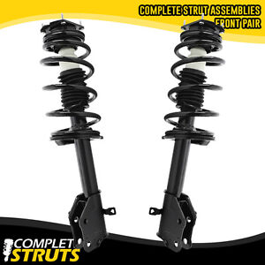 Set of 4 Front Quick Complete Strut Assemblies /& Rear Bare Shock Absorbers Compatible with 2007-2010 Ford Edge
